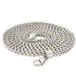 Stainless Steel Franco Chain 36 Inches, 6mm Thick #7-36
